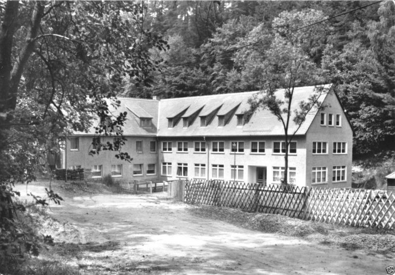 Ansichtskarte, Schleifreisen ü. Hermsdorf Thür., Bockmühle, 1981