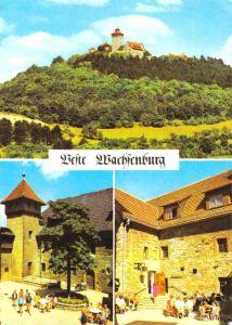 Ansichtskarte, Holzhausen Kr. Arnstadt, Feste Wachsenburg, drei Abb., 1972