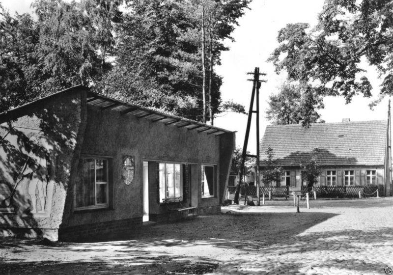 Ansichtskarte, Zechlinerhütte Kr. Neuruppin, Straßenpartie, 1978