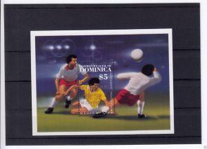 Dominica, Block **, Fußball-Weltmeisterschaft Mexico 86