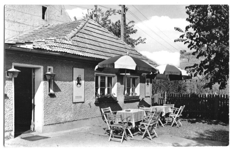 Ansichtskarte, Märkisch Buchholz, Gaststätte