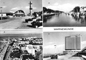 Ansichtskarte, Rostock Warnemünde, vier Abb., 1978