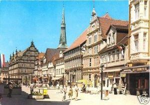 Ansichtskarte, Hameln Weser, Osterstraße, belebt, 1979