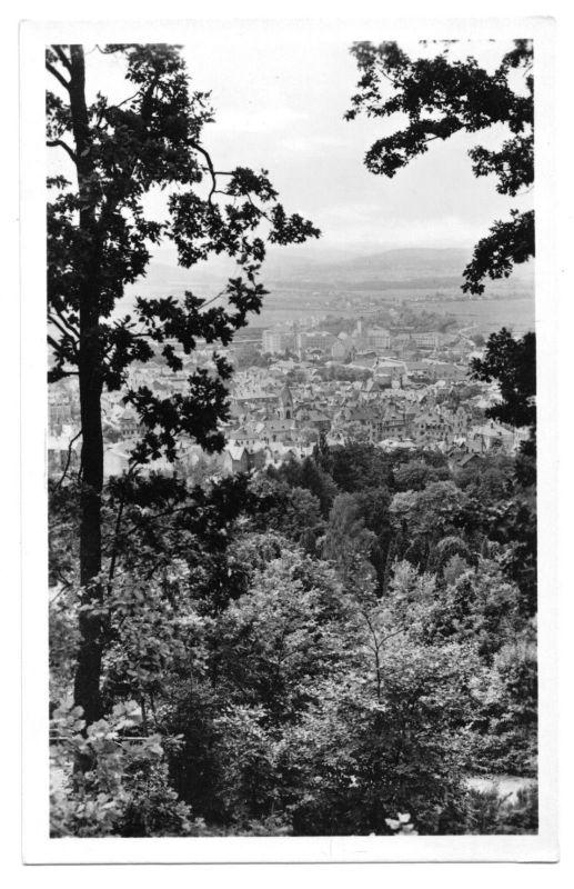 Ansichtskarte, Sonneberg Thür. Wald, Gesamtansicht, 1956