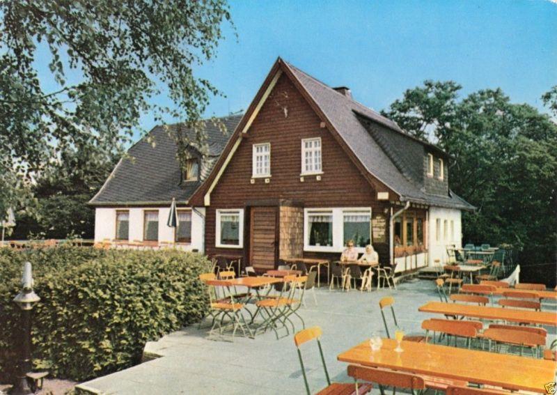 Ansichtskarte, Königswinter, Berggasthaus Ölberg Siebengebirge, um 1970