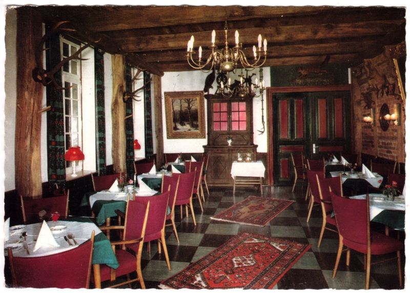 Ansichtskarte, Handorf b. Münster Westf., Hotel-Restaurant