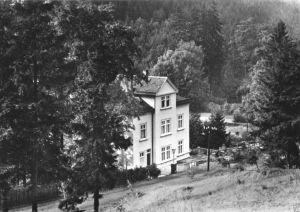Ansichtskarte, Friedrichroda Thür. Wald, Café Waldschlößchen, 1966
