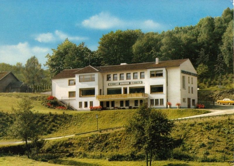 Ansichtskarte Hattingen Bredenscheid Wodantal Haus
