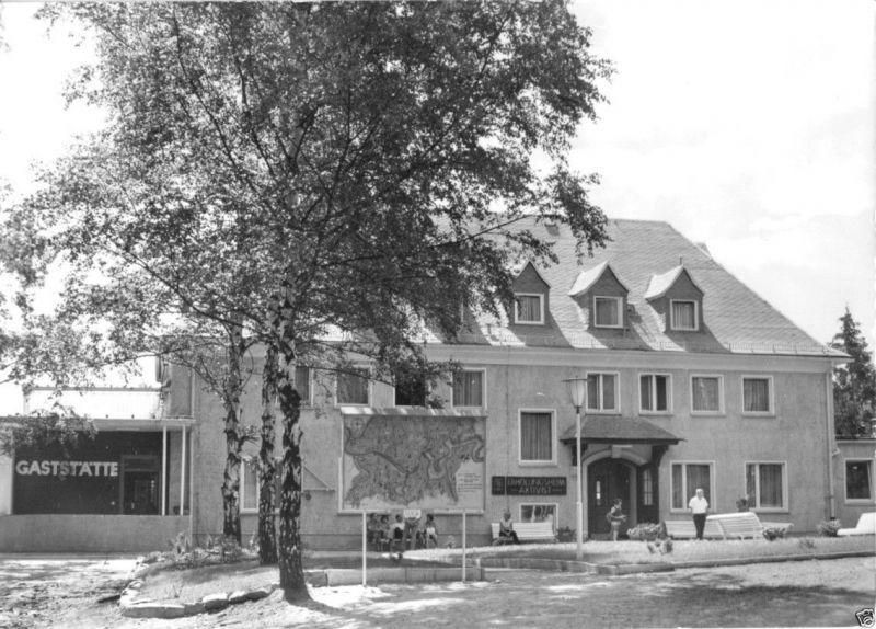 Ansichtskarte, Goßwitz Kr. Saalfeld, OT Bucha, Heim