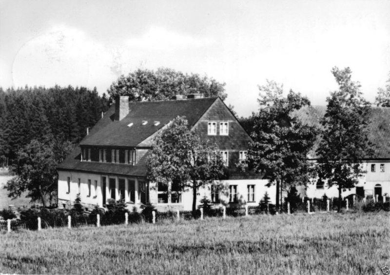 Ansichtskarte, Sehma Erzgeb., Erholungsheim des DTSB, 1967
