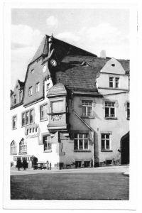 Ansichtskarte, Bad Klosterlausnitz Thür, Rathaus, 1953