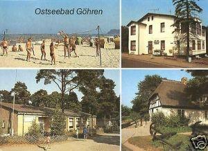 Ansichtskarte, Göhren, 4 Abb., u.a. HOG
