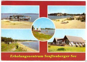 Ansichtskarte, Erholungszentrum Senftenberger See, fünf Abb., gestaltet, 1988
