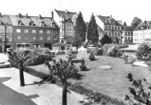 Ansichtskarte, Lengefeld Erzgeb., Markt, 1979