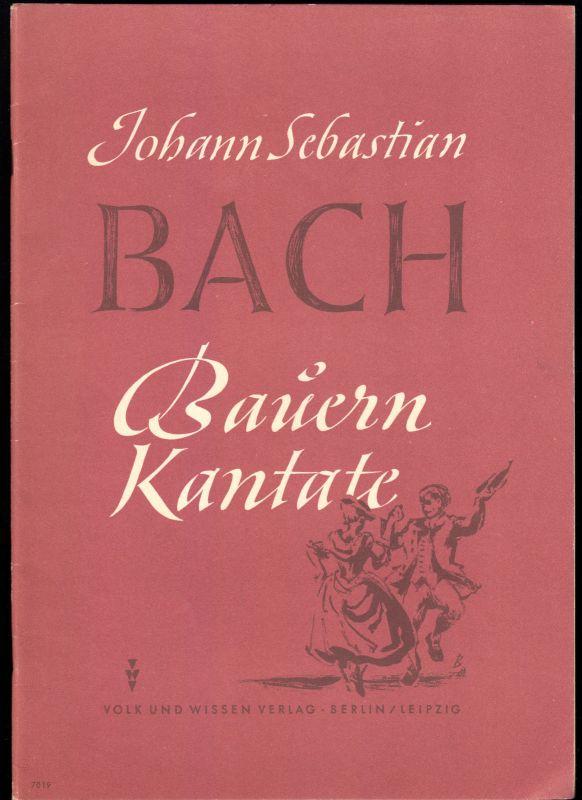 Bach, Johann Sebastian; Bauernkantate, 1950