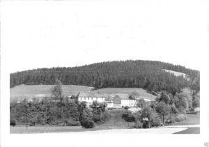 Ansichtskarte, Langenorla Kr. Pößneck, Ferienheim Schimmersburg
