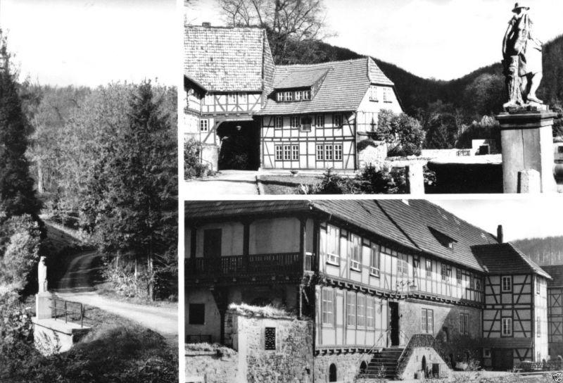 Ansichtskarte, Kloster Zella Kr. Mühlhausen, Ev. Heimstätte, Alters- und Pflegeheim, 1981