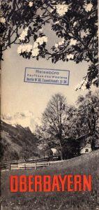 Tour. Faltblatt und Broschüre, Oberbayern, 1953