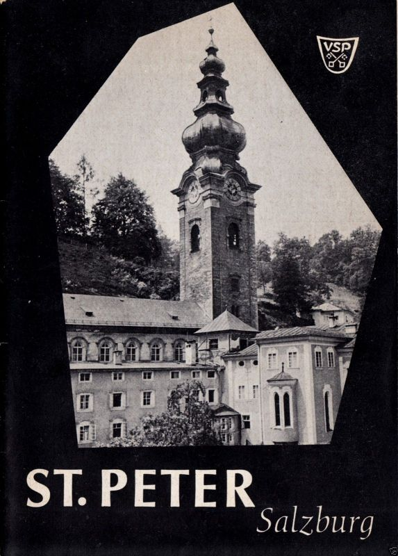 Tour. Broschüre, St. Peter Salzburg, 1965