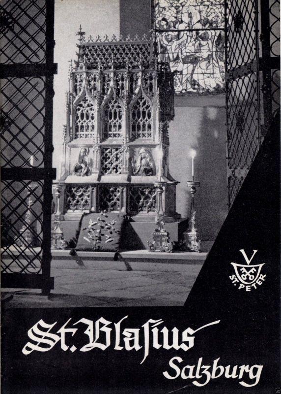 Tour. Broschüre, St. Blasius Salzburg, 1966