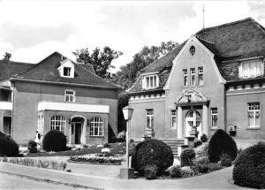 Ansichtskarte, Lindau Kr. Zerbst, Diät-Sanatorium, Haus 3 und 1, 1976