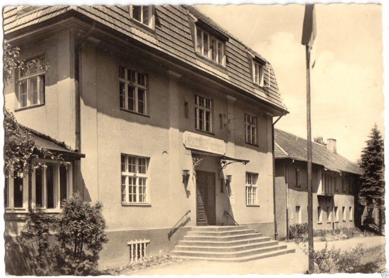 Ansichtskarte, Diensdorf Scharmützelsee, FDGB-Heim