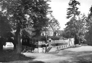 Ansichtskarte, Linda Kr. Brand-Erbisdorf, Ferienheim und Gaststätte
