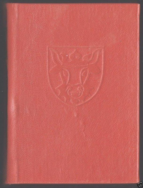 Bentzien, Ulrich Hrsg.; Mecklenburg - Ein Gästebuch, Minibuch, 1982