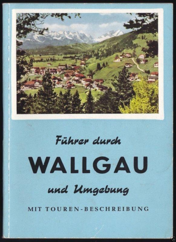 Führer durch Wallgau und Umgebung, 1964