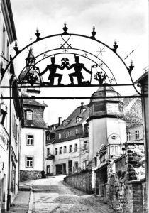 Ansichtskarte, Schwarzenberg Erzgeb., Untere Schloßstr., 1975
