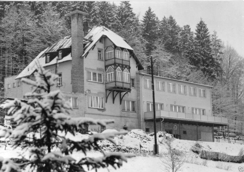 Ansichtskarte, Wolkenstein Erzgeb., Betriebsferienheim