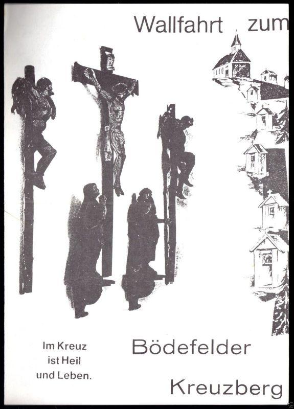 Prospekt, Wallfahrt zum Bödefelder Kreuzberg, um 1980