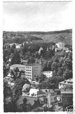 Ansichtskarte, Bad Schwalbach, Teilansicht, ca. 1963