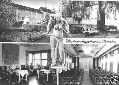 Ansichtskarte, Olbernhau Erzgeb., Pflegeheim