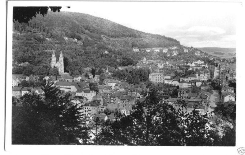 Ansichtskarte, Sonneberg Thür., Teilübersicht, 1958