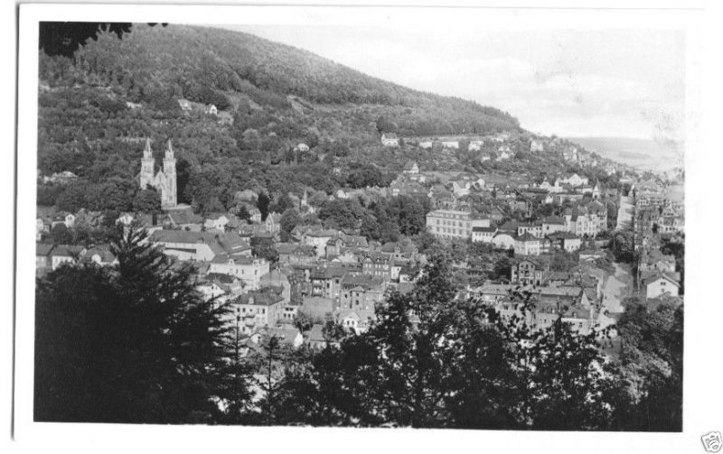 Ansichtskarte, Sonneberg Thür, Gesamtansicht, 1956