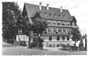 Ansichtskarte, Oberbärenburg Erzgeb., FDGB-Heim
