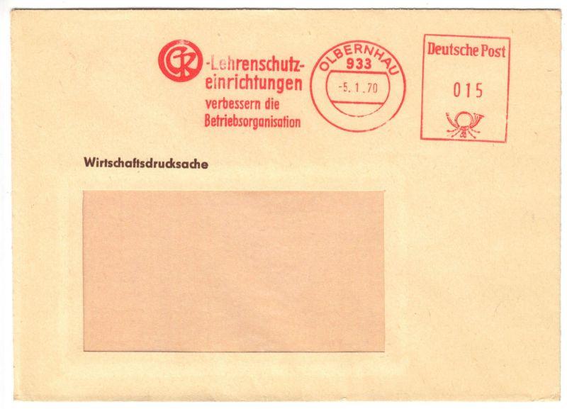 AFS, Clemens Reissig KG, Lehrenschutzeinrichtungen, o Olbernhau, 933, 5.1.70