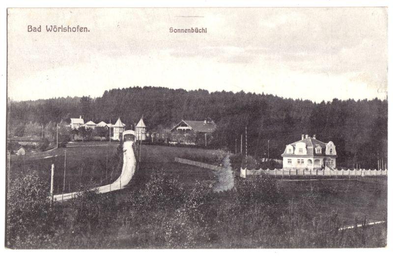 Ansichtskarte, Bad Wörishofen, Sonnenbüchl, 1926