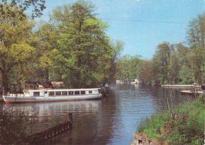 Ansichtskarte, Königs Wusterhausen, OT Neue Mühle, An der Dahme, Dampfer, 1983