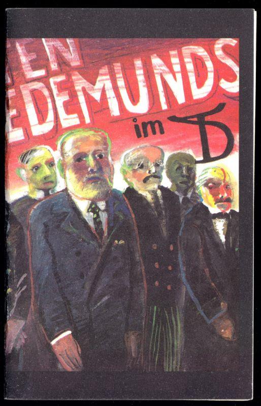Theaterprogramm, Deutsches Theater Berlin, E. Barlach, Die echten Sedemunds 1989