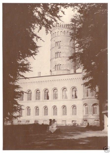 Echtfoto 1930, 11 x 15 cm, Ostseebad Binz Rügen, Jagdschloß Granitz