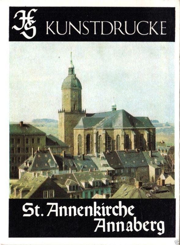 Kunstdruck-Leporello, Annaberg - St. Annenkirche, 1985