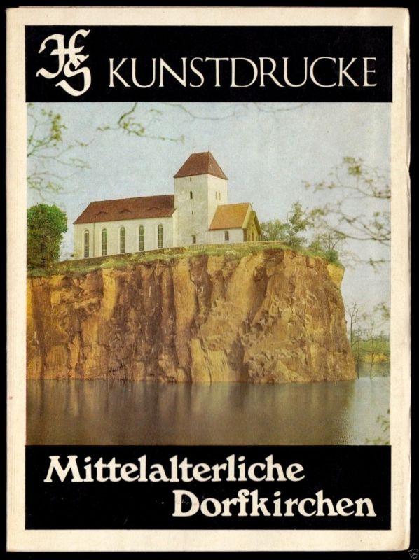 Kunstdruck-Leporello, Mittelalterliche Dorfkirchen, 1983