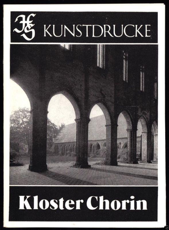 Kunstdruck-Leporello, Kloster Chorin, 1987