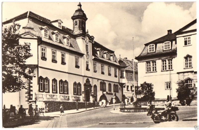 Ansichtskarte, Ilmenau Thür., Rathaus, 1963