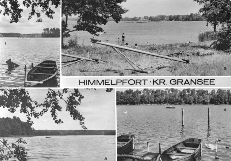Ansichtskarte, Himmelpfort Kr. Gransee, vier Abb., 1983