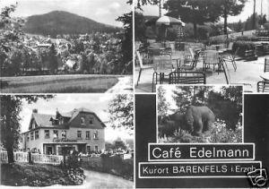 Ansichtskarte, Kurort Bärenfels Erzgeb., Café Edelmann, 1977