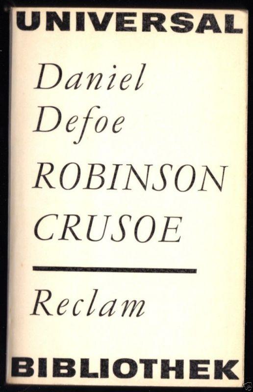 Defoe, Daniel; Robinson Crusoe, 1965, Reclam 200