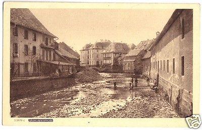 Ansichtskarte, Massevaux (Hte - Alsace), Teilansicht, um 1918
